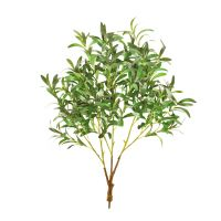 85cm MultiBranch Ruscus Leaf Branch