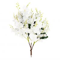 85cm MultiBranch Cream Orchid Branch