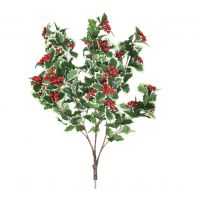 82 MultiBranch Holly Berry Branch – Red